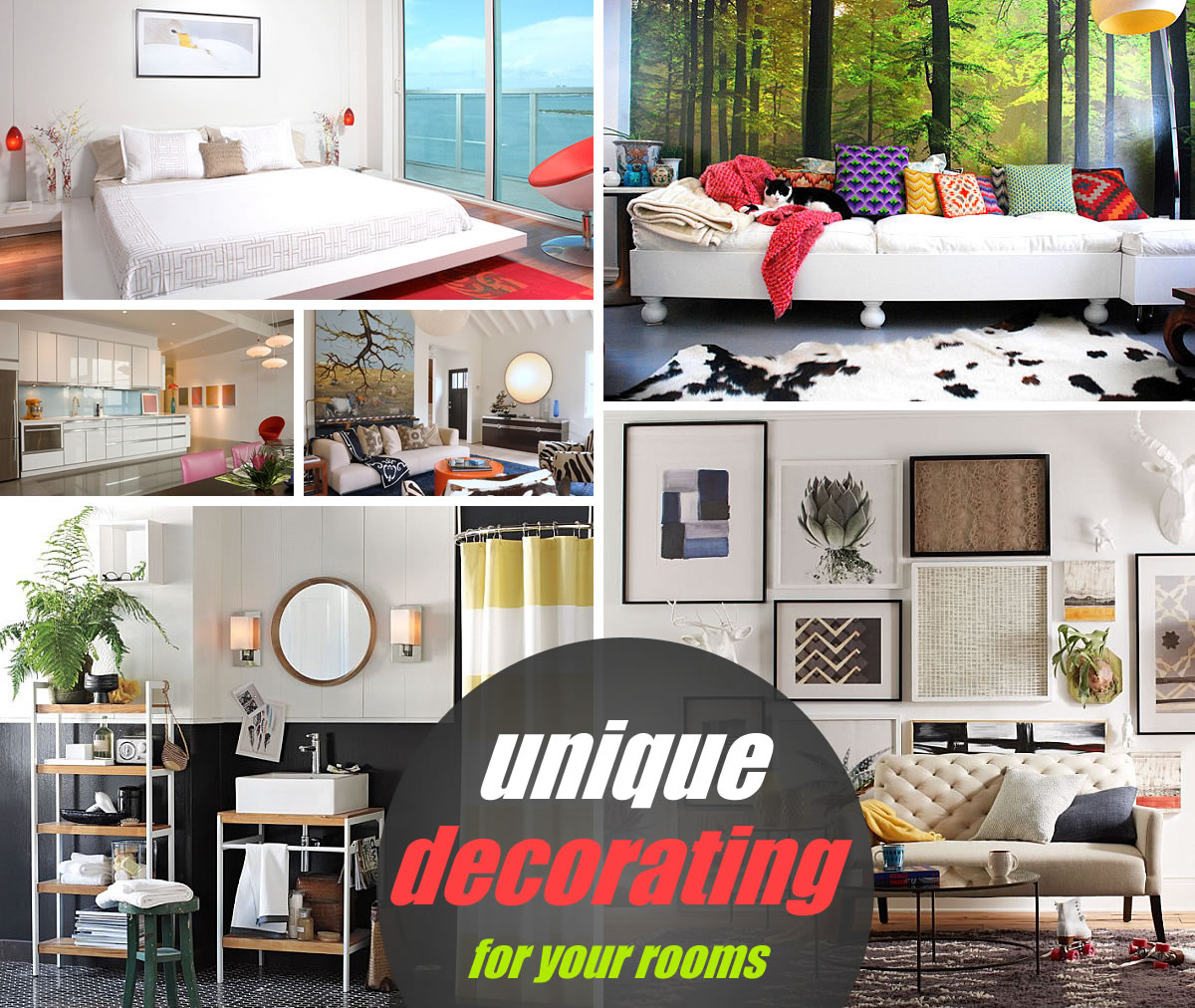 unique decorating ideas
