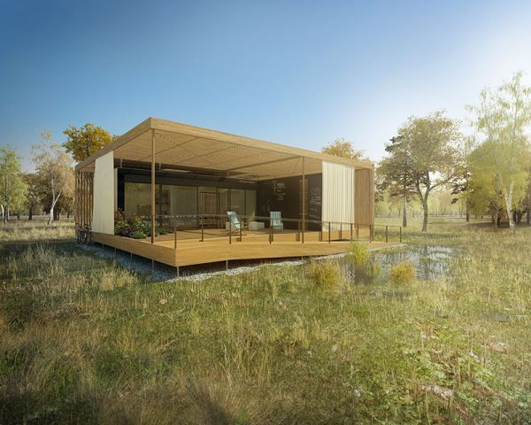View In Gallery Air House By Team Ctu Solar Decathlon 2013 Best Green Homes Designs