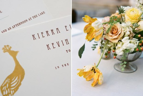 Austin garden wedding details