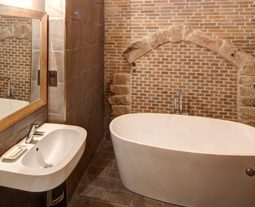 Bathroom at the castle holiday home
