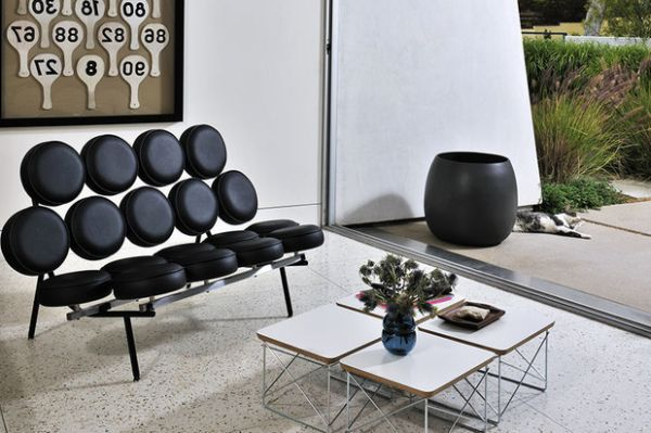 inspirational george nelson designs from iconic clocks to ingenious sofas. Black Bedroom Furniture Sets. Home Design Ideas