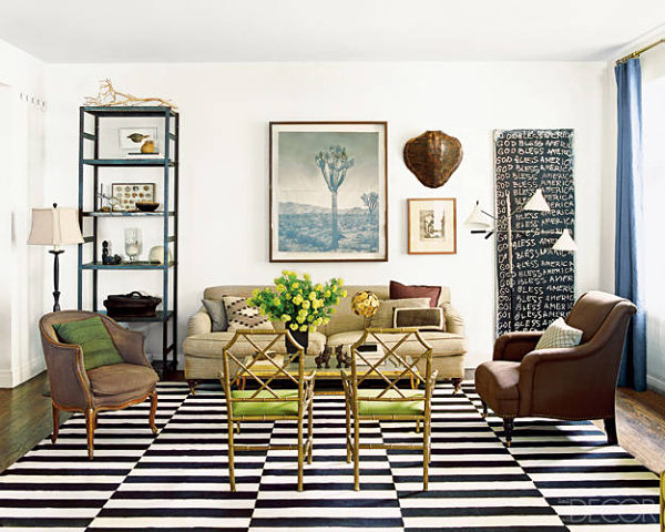 Chicago apartment of Nate Berkus 17 Creative Living Room Interior Design Ideas
