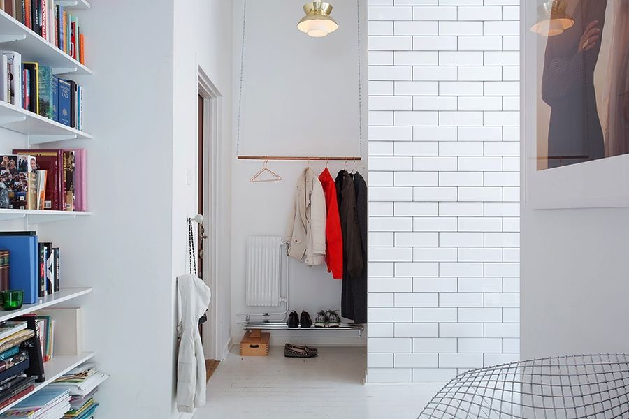Closet idea for small spaces