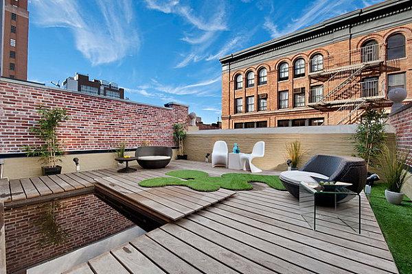 Contemporary outdoor garden chairs