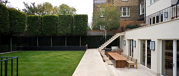 18 modern outdoor spaces for Amenagement exterieur jardin