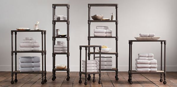 restoration hardware bathroom shelves 3