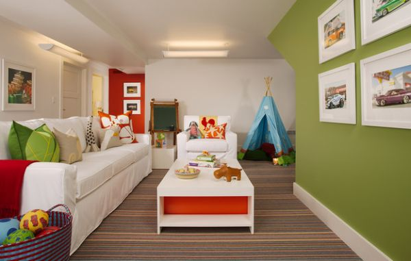 40 Kids Playroom Design Ideas That Usher In Colorful Joy