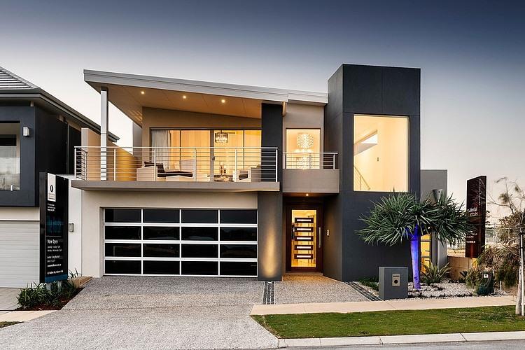 Facade of Mizu Home by Residential Attitudes