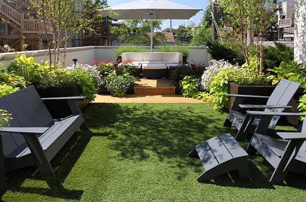 Stylish garden chairs for your outdoor space for Garden on rooftop designs