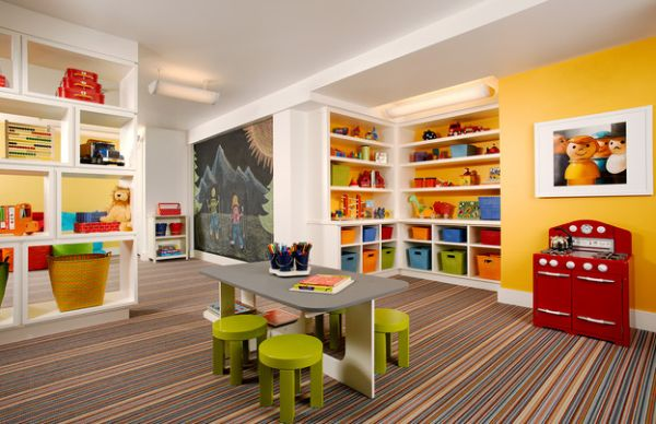 40 kids playroom design ideas that usher in colorful joy!