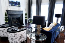 Toile Fabric: Add Cool Color And Chic Pattern To Contemporary Interiors