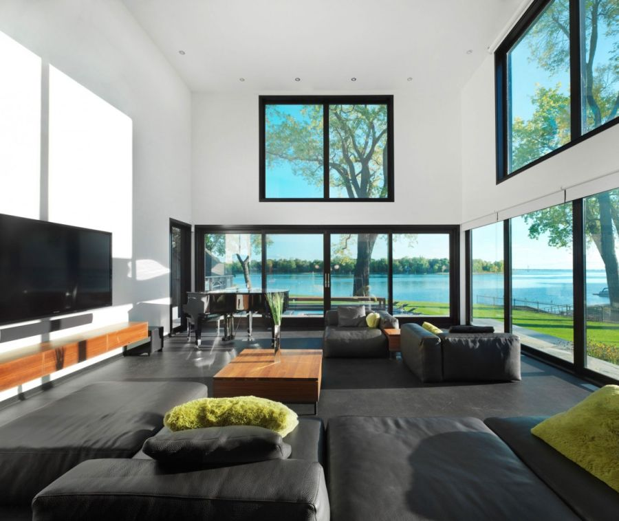Gorgeous views from the living space