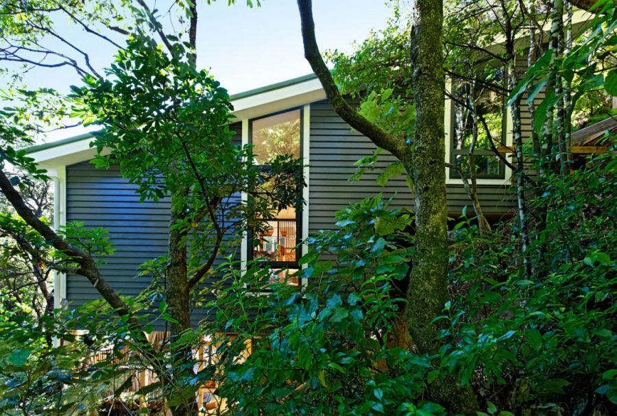 Greenery around York Bay Residence