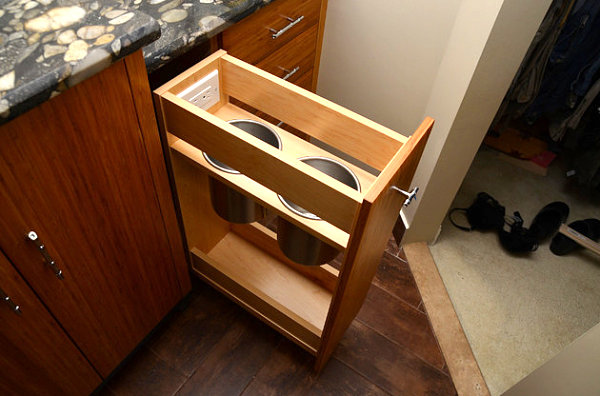 Hair care product storage drawer