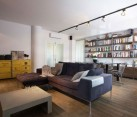 Industrial apartment in Warsaw Poland