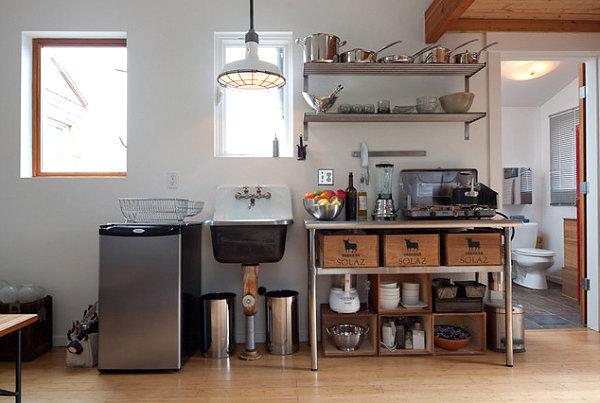 cool kitchen shelf ideas.  Cool Kitchen Storage Ideas