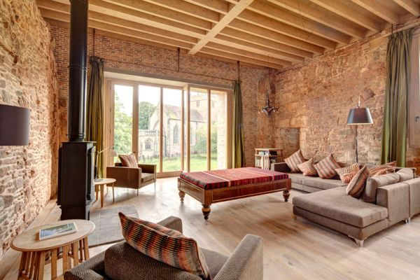 Interior of Astley Castle - 2013 RIBA Stirling Prize WInner