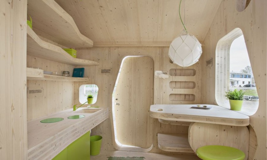 Smart, Sustainable Prefab Student House