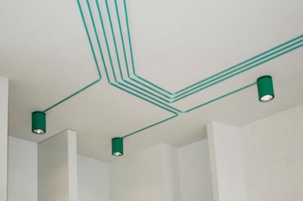 Maygreen light installation by KINZO