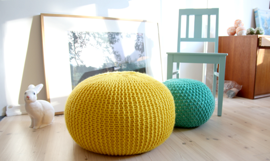 A Textured Tale: DIY Knitted and Crocheted Home Accents