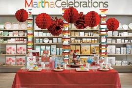Martha Stewart display inside JCPenney