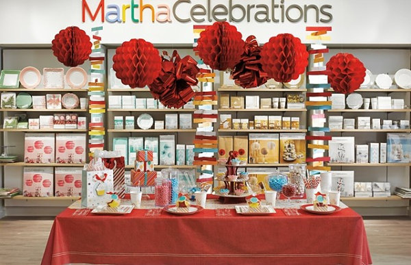 Martha Stewart display inside JCPenney
