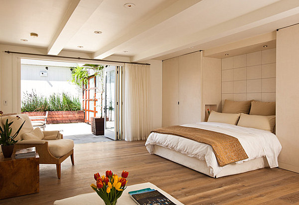 view in gallery master suite with balcony garden - Bedroom Balcony Designs