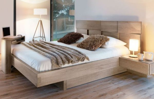 Modern beds for modern luxury bedrooms - Encadrement de lit 180x200 ...