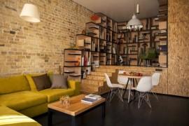 Creative Kiev Apartment Showcases A Fresh And Flowing Interior