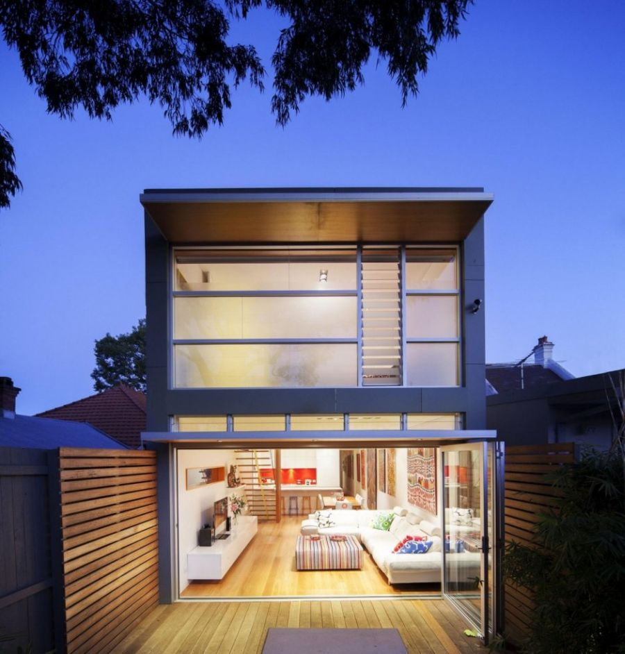 Modern extension to a heritage home in Sydney
