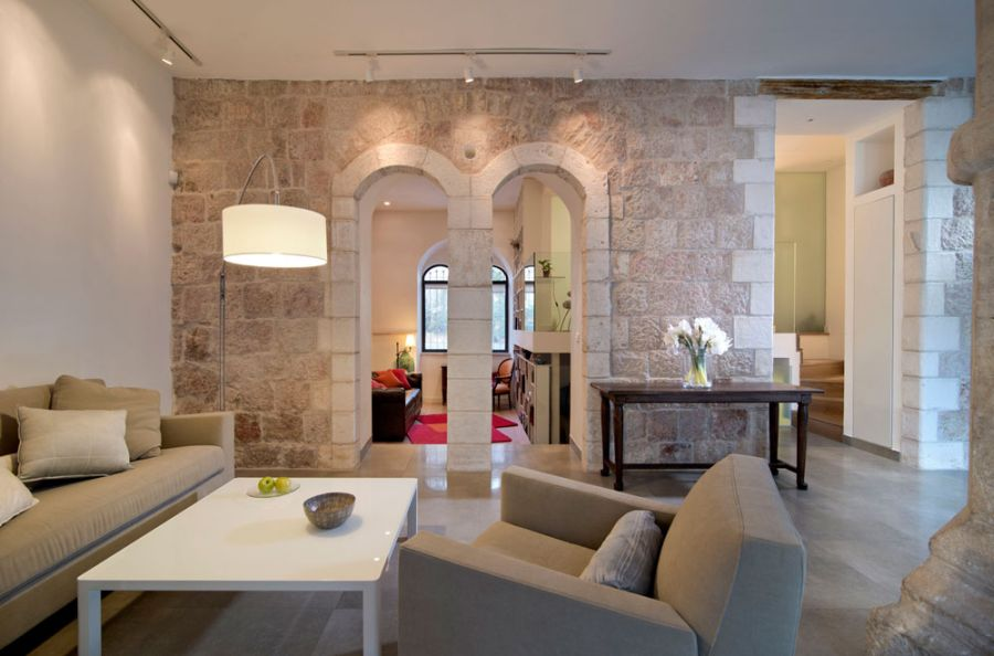 Jerusalem Apartment Where Modern Minimalism Meets Old