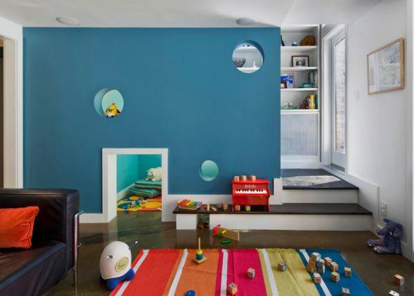 Modern Kids Playroom 40 kids playroom design ideas that usher in colorful joy!
