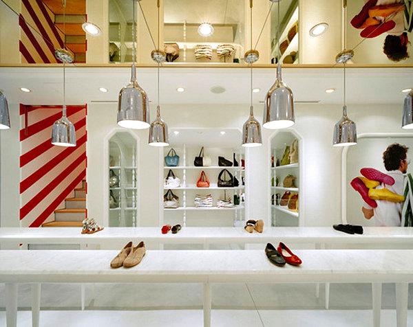 Modern store display
