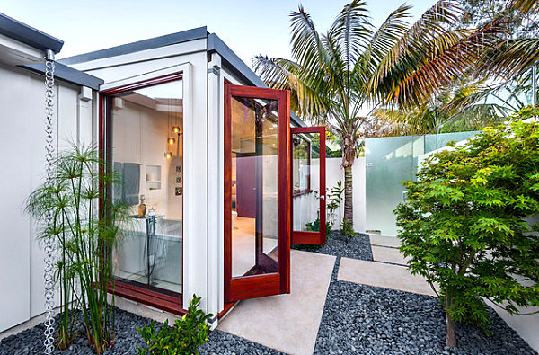 Modern villa outdoor style