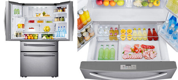 New Samsung fridge offers ample storage