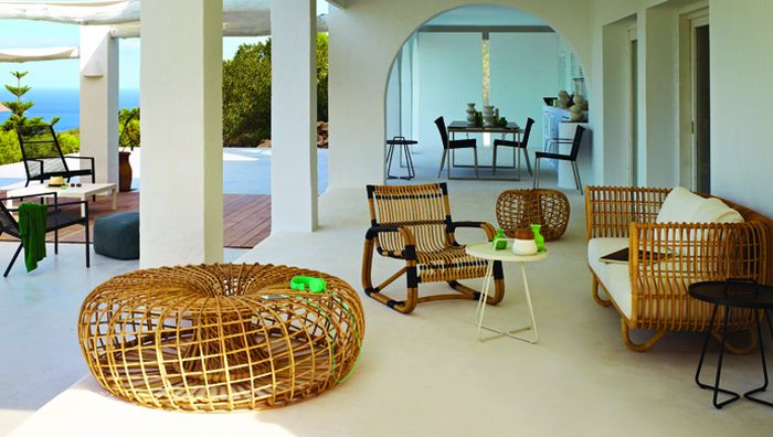 Perfect rattan furniture for the outdoors Nest: Sustainable Rattan Décor With Scandinavian Charm
