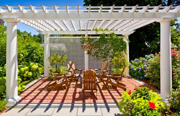 Picture perfect pergola offers ample privacy You might never want to leave this one Shaded To Perfection: Elegant Pergola Designs For The Modern Home