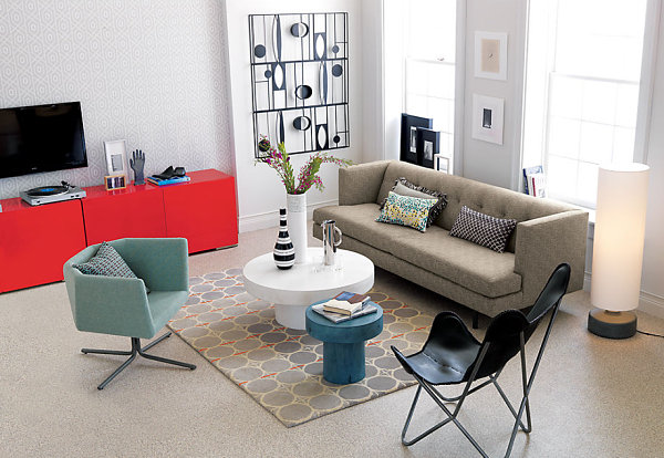 Visions Of Scarlet Bold Red Furniture Finds