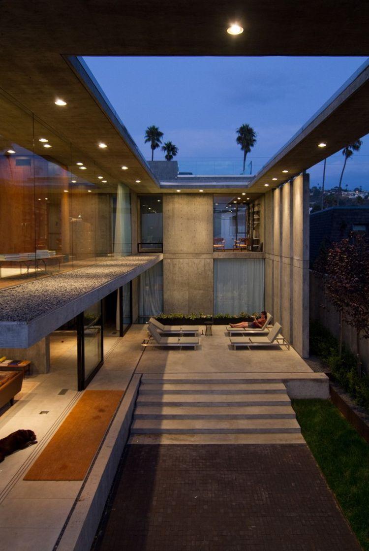 Relaxing outdoor deck area