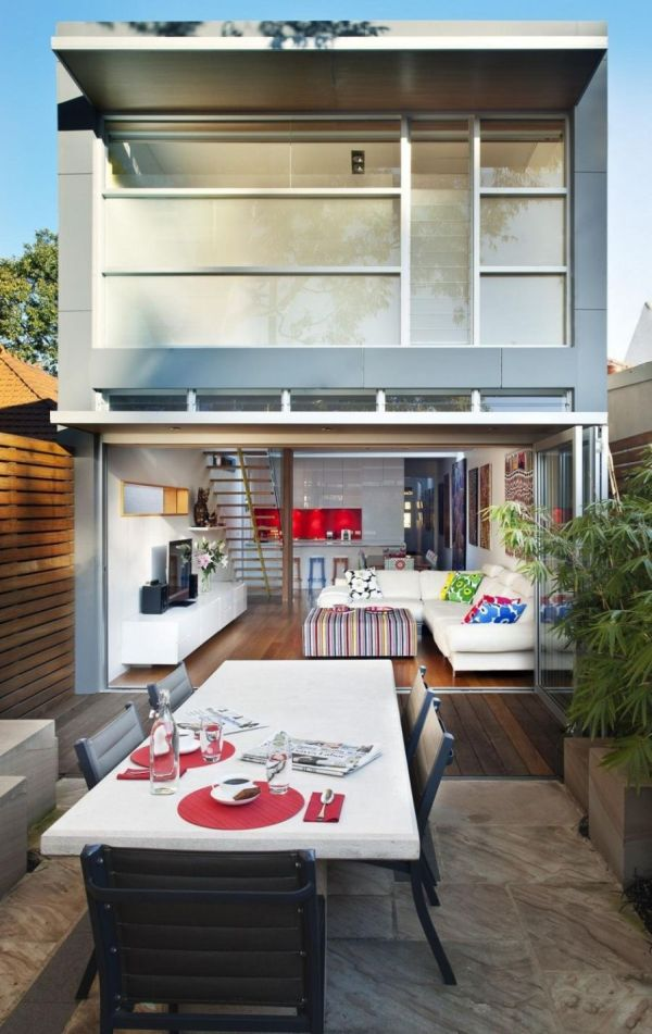 Bright Modern Extension To A Classic Heritage Home in Sydney