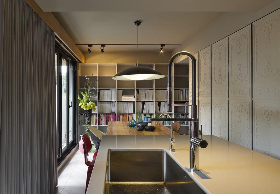 Renovated interiors preserve historic elements of design