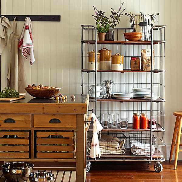 Cool kitchen storage ideas for Cabinet storage ideas kitchen