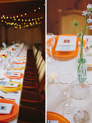 Rustic touches for a fall fete