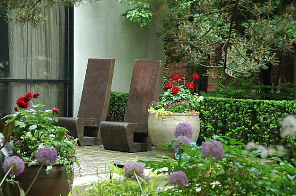 Sculptural outdoor chairs Stylish Garden Chairs for Your Outdoor Space