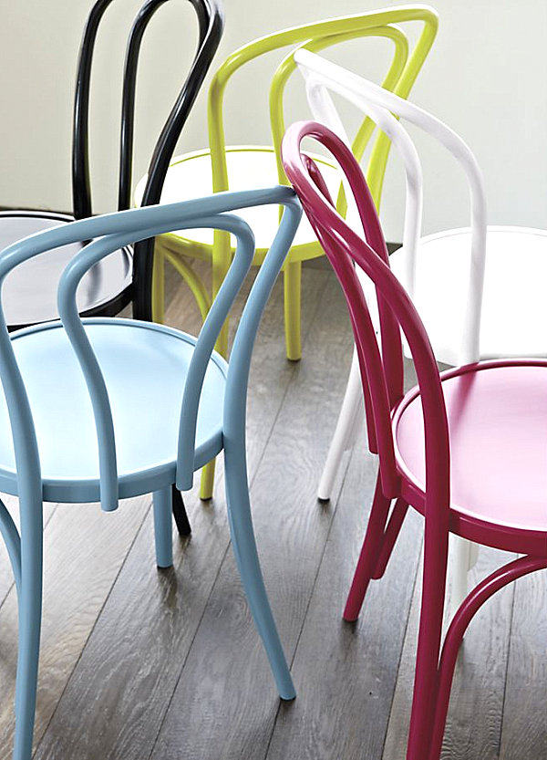 Side chairs from Crate & Barrel