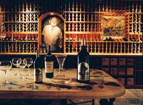 Silver Oak 600x442 Artistic Wine Cellars: Opulent and Over the Top Custom Design by Patrick Wallen [Interview]