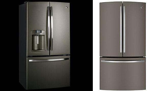 Slate refrigerators from GE