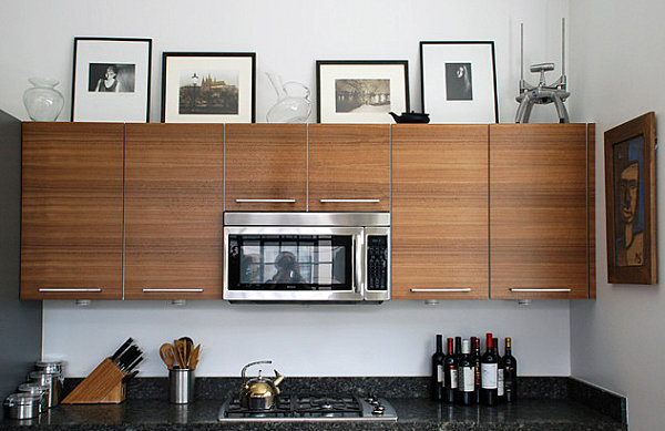 Sleek kitchen decor
