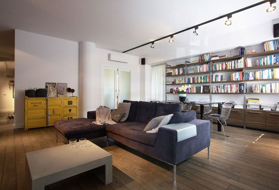 Stylish Apartment In Poland Charms With Cool Industrial