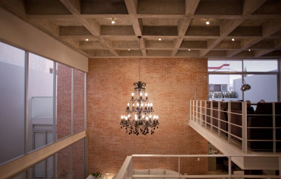 Stylish chandelier steals the show